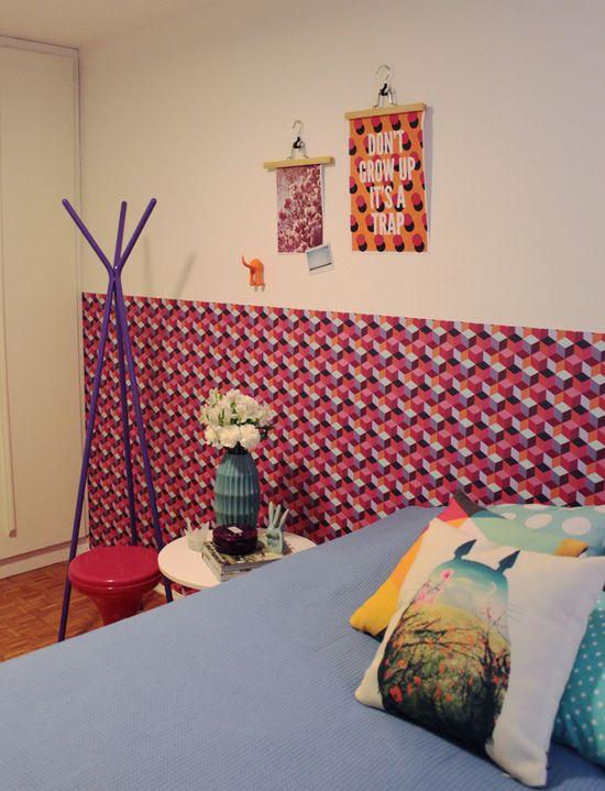 MY colorful bedroom #decor #quartos #bedrooms