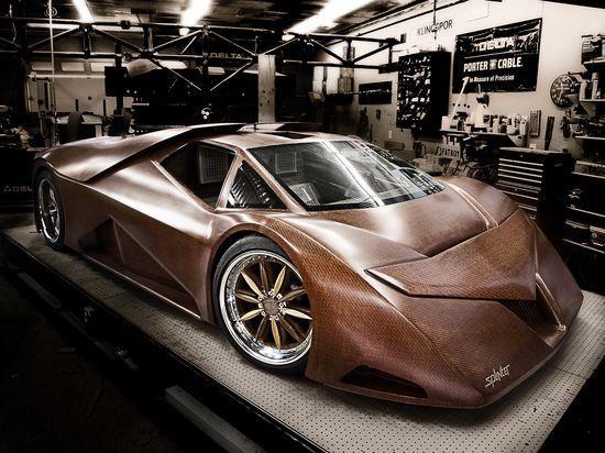 SPLINTER - Wooden Sport Car