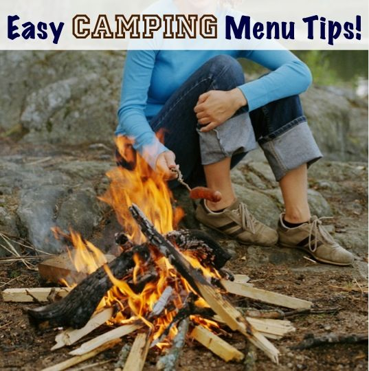 34 Quick and Easy Camping Menu Tips!!