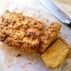 Cheese and Ham Loaf Bread