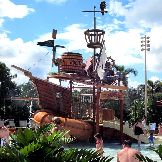 Disney's Caribbean Beach Resort.