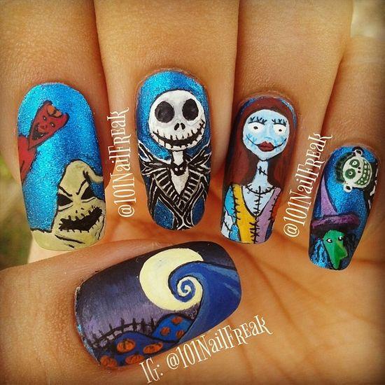 halloween by 101nailfreak #nail #nails #nailart