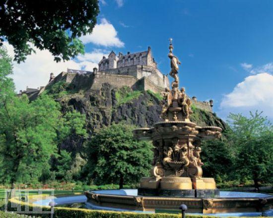 Edinburgh Castle, Edinburgh, Scotland - was there many, many years ago