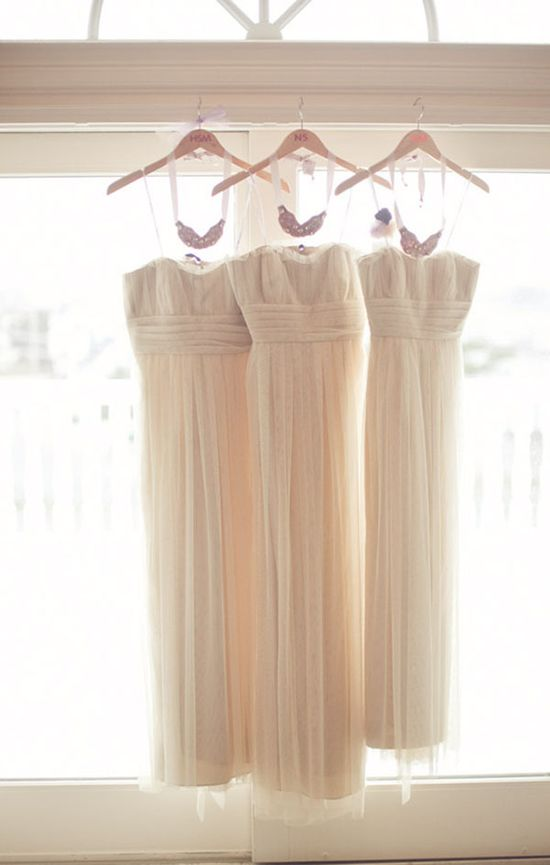 Bridesmaid's Gowns by Vera Wang ~ Photography by maggieharkov.com