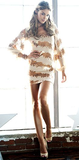 Arden B. Sparkles! #fashion #women's #dress #style #cannes #french #riviera #nice #monaco #white #gold