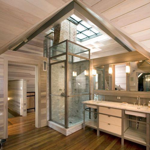 cool bathroom- modernized victorian home