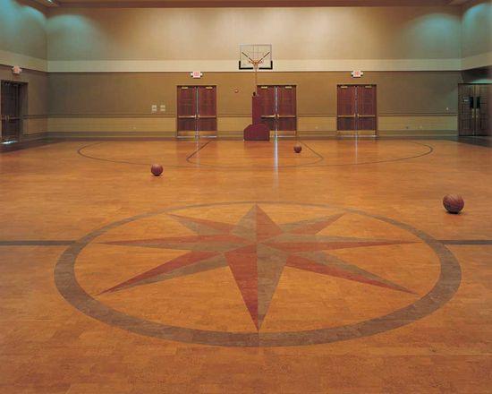 Cork floor design (mandela/om)