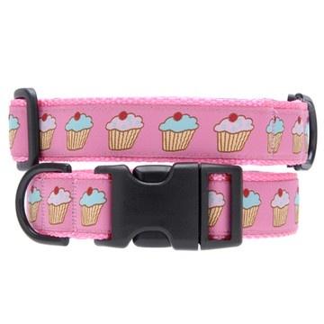 Cupcake Pet Collar.