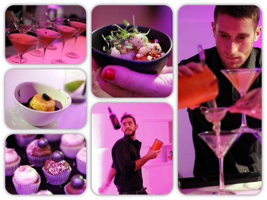 Cosmo Food & Drink Montage