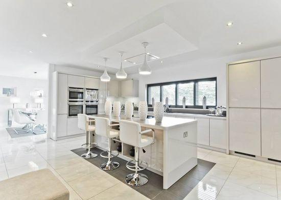Cool contemporary kitchen by Jakara Interior Design