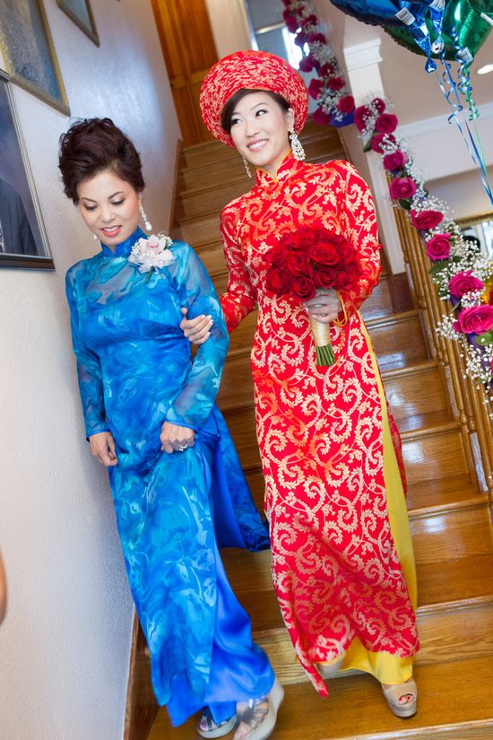 Red Wedding Ao Dai