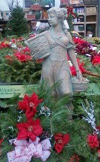 Christmas garden decor