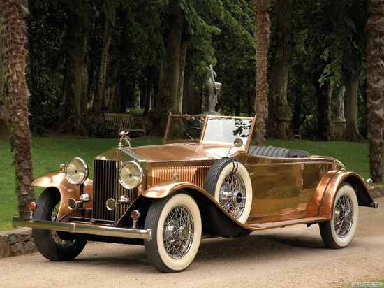 and the car to go with it...Antique Rolls