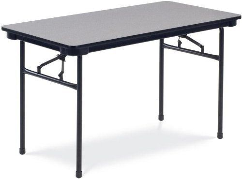 """48"""" x 24"""" Folding Table IBA188 by Virco. $137.00. 48"""" x 24"""" Folding TablebyVirco Trusted: 20+ Years Experience. Overall: 48 in W x 24 in D x 29 in H ,"""