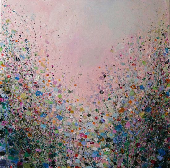 "Saatchi Online Artist: Sandy Dooley; Acrylic, 2013, Painting ""Dusk Light"""