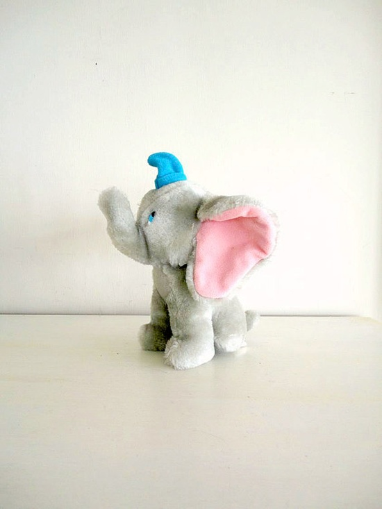 1980s disney dumbo toy :)