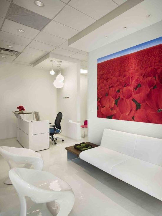 Smile Designer Dental Office Interiors / Antonio Sofan Architect LEED AP