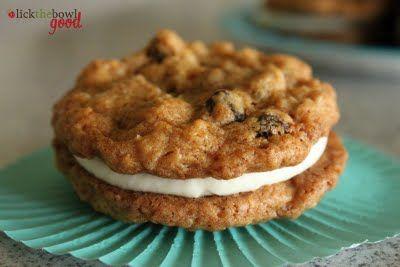 homemade oatmeal cream pies. :)