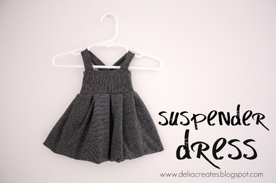 Suspender Dress tutorial