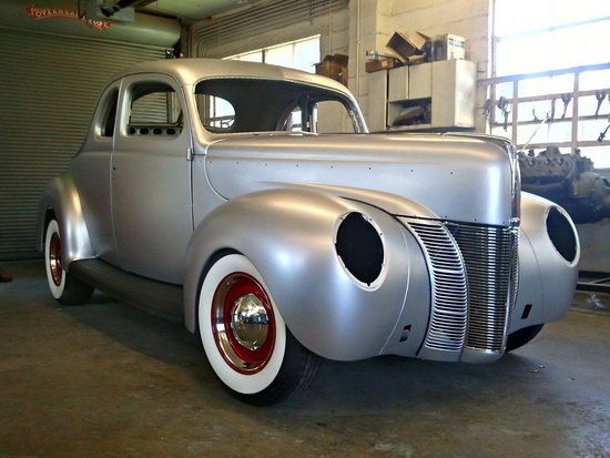 Ford Coupe 1940 - car body
