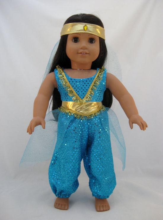 American Girl Doll Sized Princess Jasmine by enchanteddesigner, $34.00