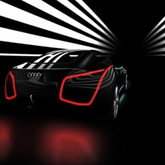 Pretty cool Futuristic Audi