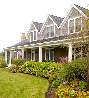 Dreamy cottage coastal exterior. I am ready to move in!