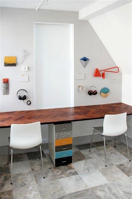 5 inspiring workspaces forcreatives via @pikaland // Studio Swine
