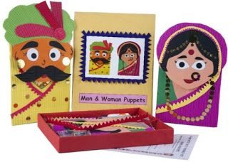 "Fantastic ""Do It Yourself"" Craft Kits by Hamara Nischay: Hand Puppets"