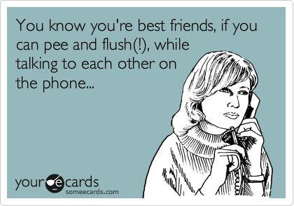 ...best friends ?