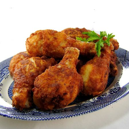 Crusty Farm-Style Fried Chicken