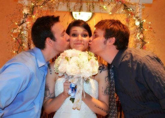 Funny Wedding Photo :)