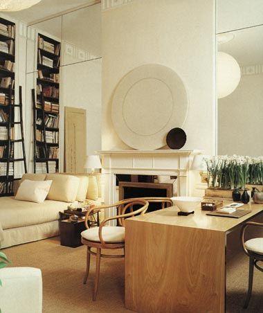 office-guest room: Tom Scheerer Designer.