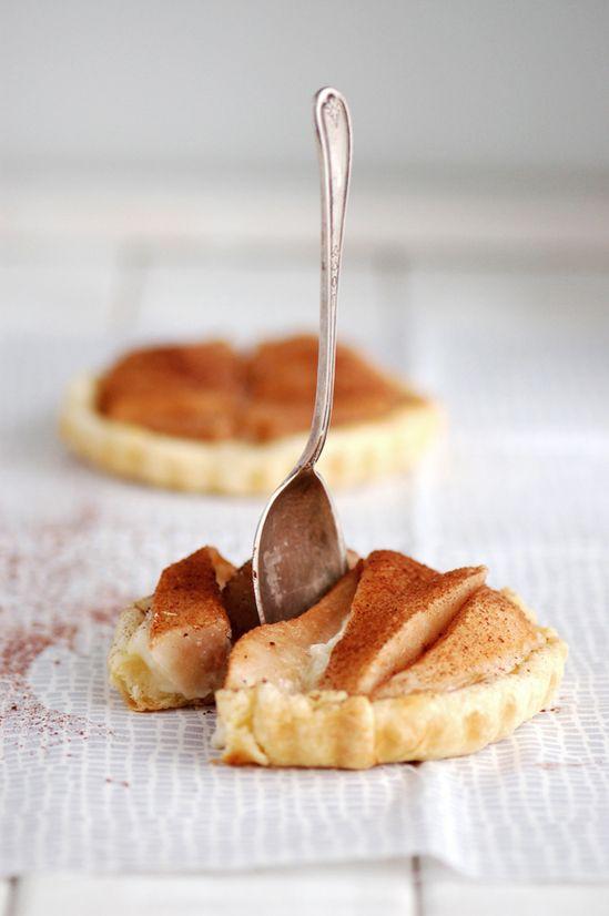 Tartelettes aux Poires & Cacao