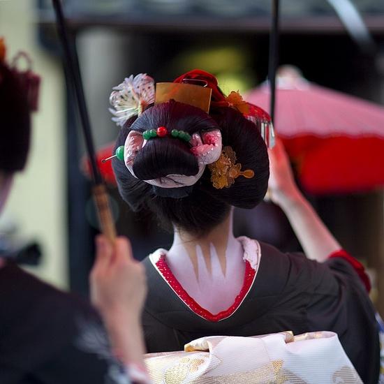 Kimono Hair Style