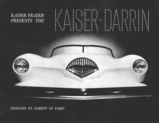 Cars of Futures Past  1954 Kaiser Darrin 161