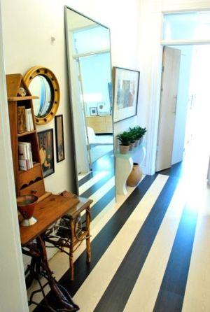 Striped Flooring