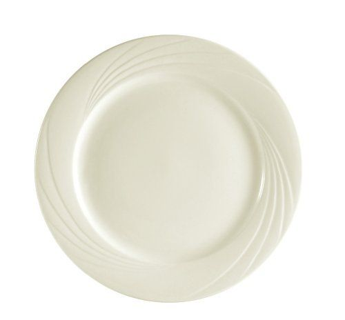 CAC China GAD-6 6-1/4-Inch Garden State Porcelain Plate, White, Box of 36 by CAC China. $67.26. Porcelain, bone white. Round bread plate. Oven, microwave and dishwasher safe. Modern and trendy for hospitality and foodservice industry. Durable china, break, chip and scratch resistance in normal use. With a long history in the tabletop industry, C.A.C China has been recognized as a trend leader for its innovative patterns and outstanding commercial grade china. C....
