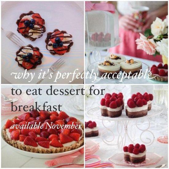 raw desserts healthy desserts