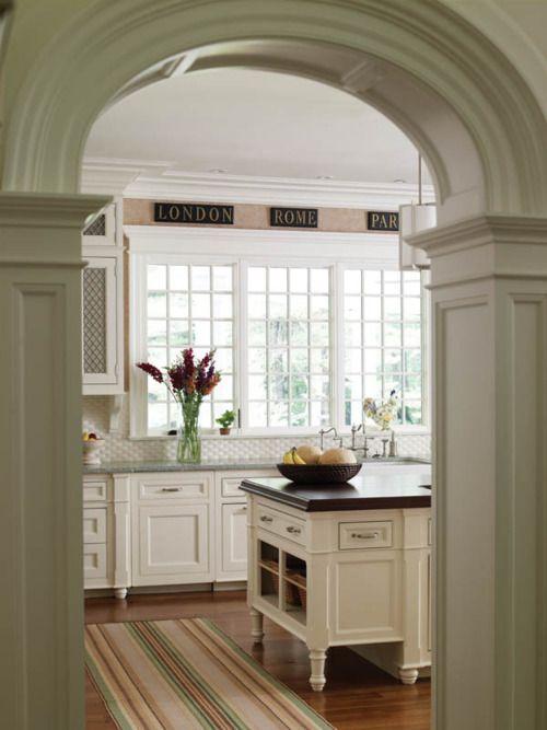 Great windows in this kitchen!
