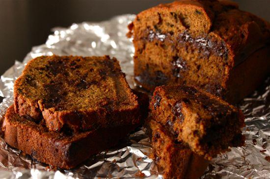 Moistest Chocolate Chip Pumpkin Bread by wittyinthecity #Bread #Pumpkin #Chocolate_Chip