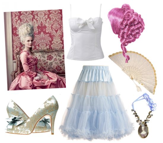 Marie Antoinette Halloween Costume {love this idea}
