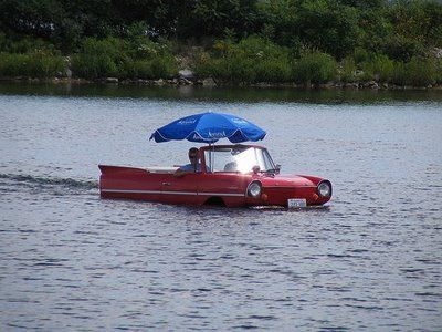 drollgirl: Amphicar - The Car That Travels by Land and Sea