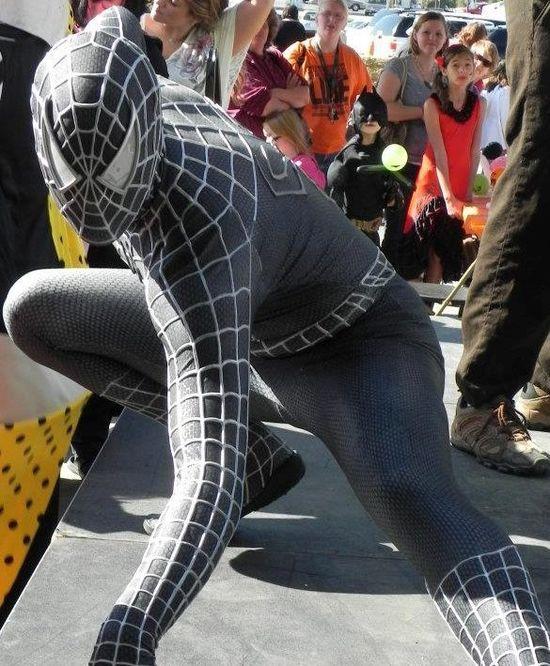 My friend, Spiderman