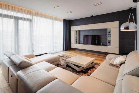 Modern apartment design ideas image