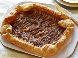Bourbon-Pear Rustic Tart : Recipes : Cooking Channel