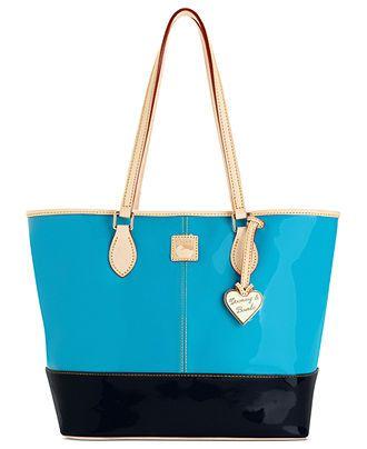 Dooney & Bourke Handbag, Patent Shopper - Dooney & Bourke - Handbags & Accessories - Macy's