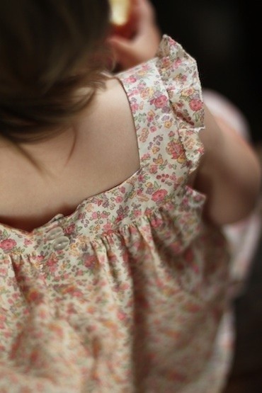 little girl's clothes are so sweet! :)