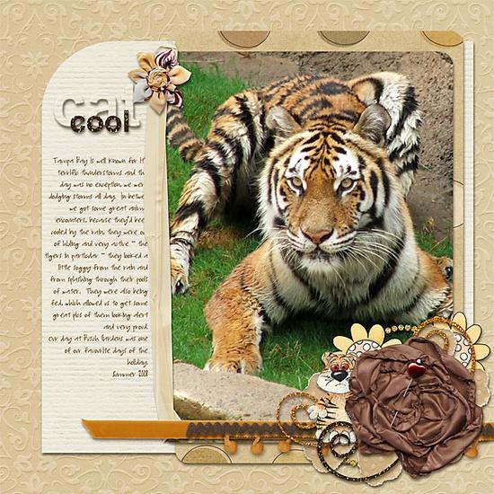 cool cat - Scrapbook.com