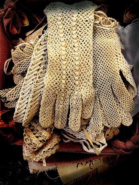 gloves...